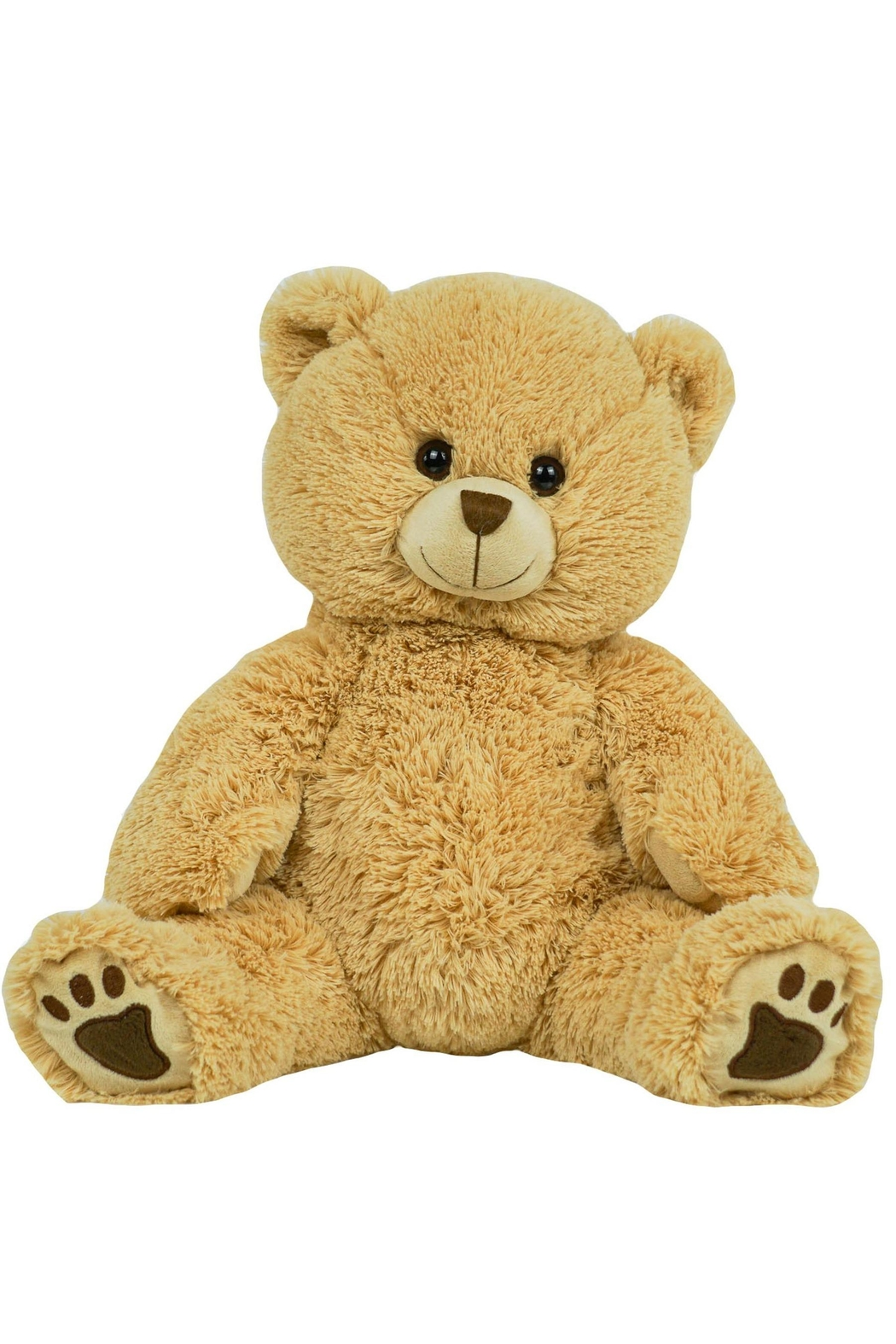 The Bear Factory Long Hair Teddy Bear - Front Cropped Image