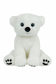The Bear Factory Plush Polar Bear - Front cropped