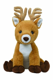 The Bear Factory Reindeer Stuffed Animal - Front cropped