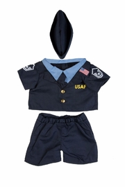 The Bear Factory Teddy Air Force Uniform - Front cropped