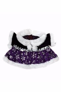 The Bear Factory Teddy Snowflake Dress - Alternate List Image