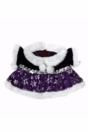 The Bear Factory Teddy Snowflake Dress - Front cropped