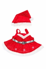 The Bear Factory Teddy Snowflake Outfit - Front cropped