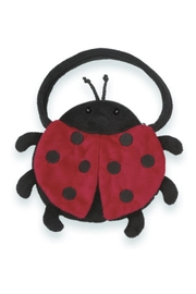 The Bearington Collection Lucky Ladybug Carrysome - Front cropped