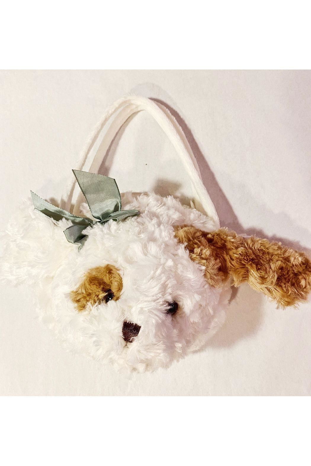 """The Bearington Collection """"Muffin"""" The Puppy Purse - Main Image"""