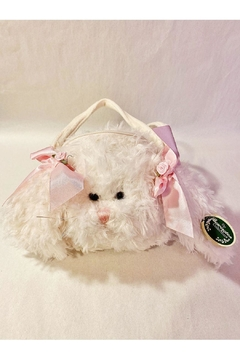 The Bearington Collection White Bunny Purse - Alternate List Image