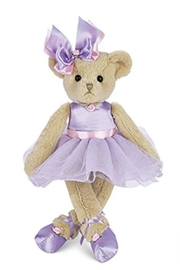 The Bearington Collection Tootsie Tutu Bear - Product Mini Image