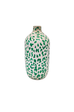 The Birch Tree Furniture Emerald Leopard Vase - Alternate List Image