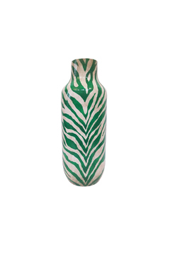 The Birch Tree Furniture Emerald Zebra Vase - Alternate List Image