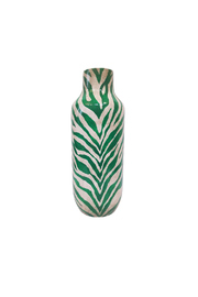 The Birch Tree Furniture Emerald Zebra Vase - Product Mini Image