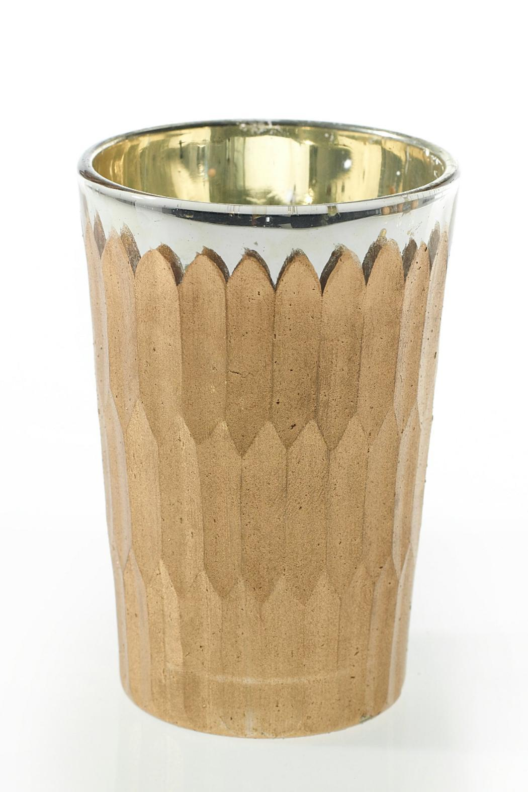 The Birch Tree Furniture Medium Glam Votive - Front Cropped Image