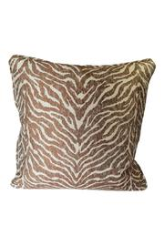 The Birch Tree Furniture Zebra Pillow - Front cropped