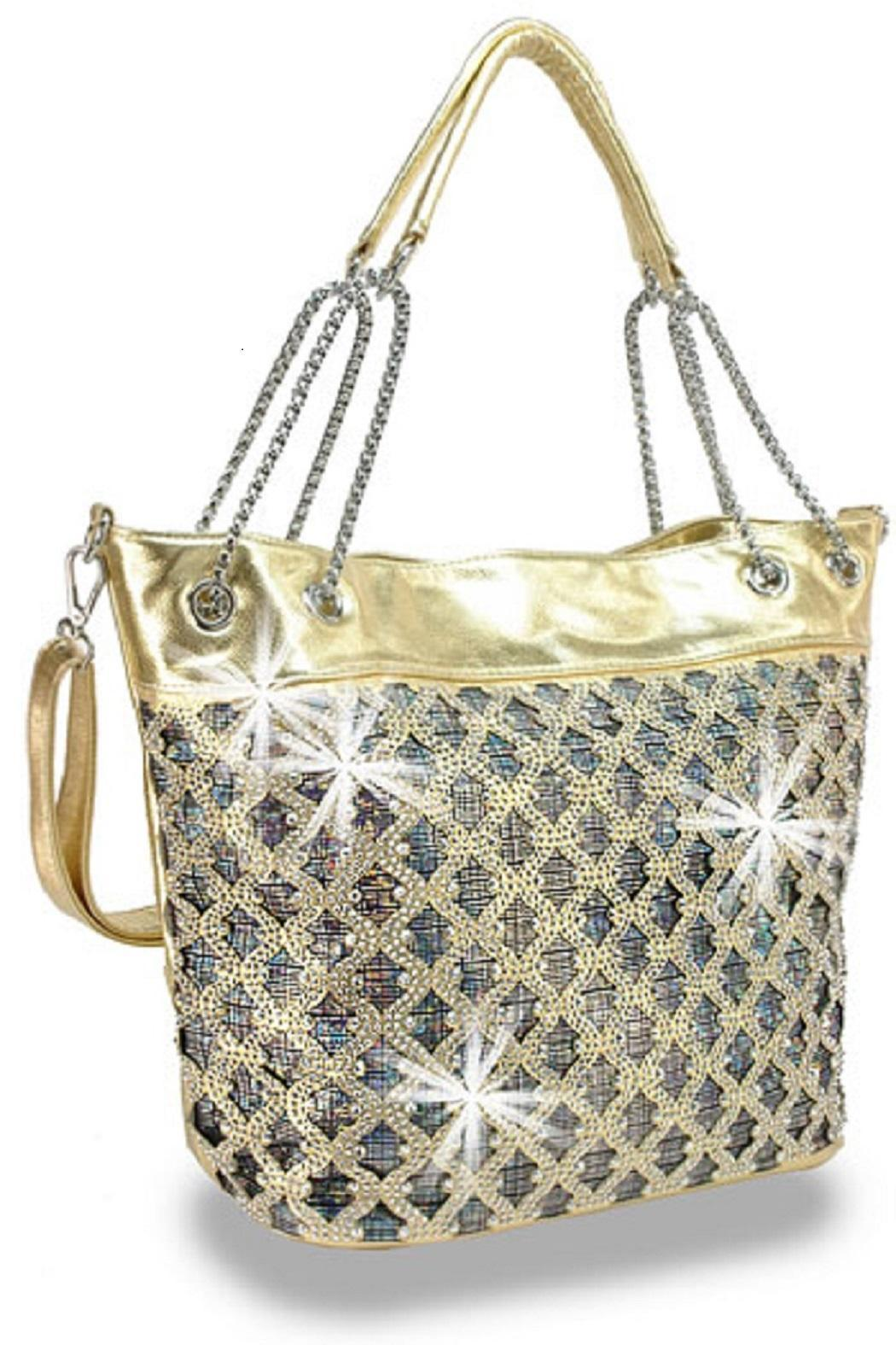 The Bling Lady S Boutique Handbag Front Cropped Image