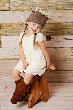 Shoptiques Product: Fawn Infant Hat