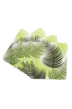 Shoptiques Product: Fern Green Coasters