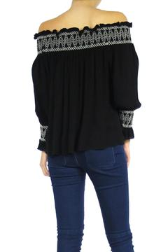 The Butik Embroidered Top - Alternate List Image