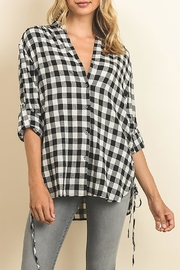 The Butik Gingham Button Down - Product Mini Image