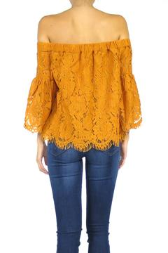 Shoptiques Product: Lacy Bell Top