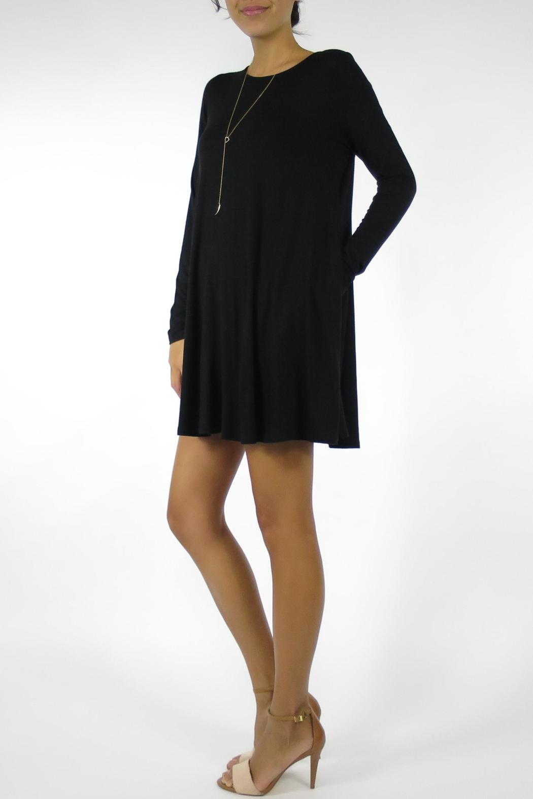 The Butik Long Sleeved Dress - Front Full Image