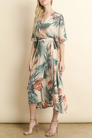 The Butik Palm Wrap Midi - Product Mini Image