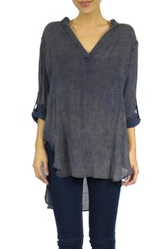 Shoptiques Product: Roll Up Sleeve Blouse