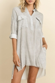 The Butik Striped T-Shirt Dress - Product Mini Image