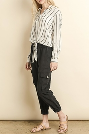 The Butik Tencel Joggers - Front cropped