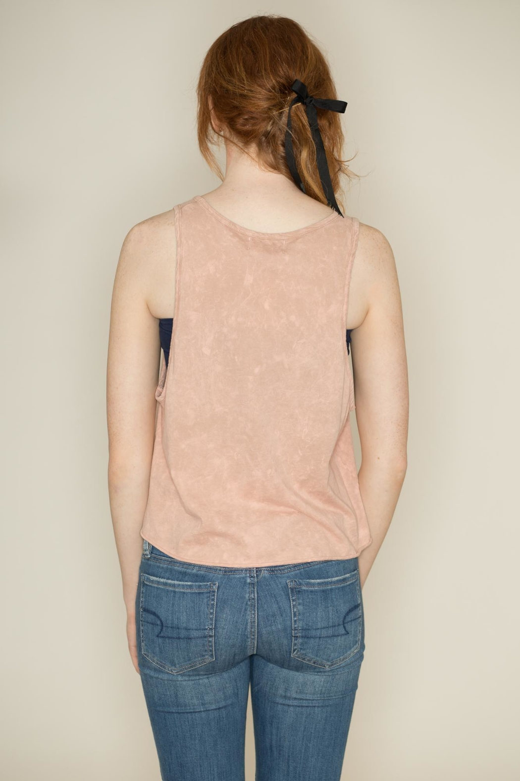 The Classic American Heart Crop Top - Side Cropped Image