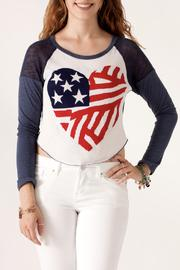 The Classic American Heart Sweater - Front cropped