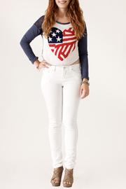 The Classic American Heart Sweater - Front full body