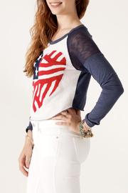The Classic American Heart Sweater - Side cropped