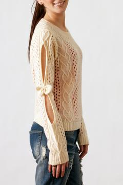 Shoptiques Product: Bow Sleeve Sweater