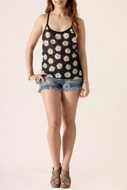 The Classic Daisy Print Tank - Front full body