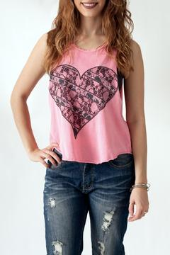 The Classic Heart Print Tank - Product List Image