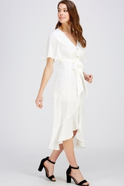 The Clothing Co Button Down Dress - Front full body