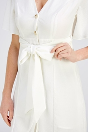 The Clothing Co Button Down Dress - Back cropped