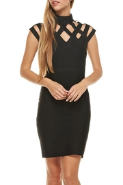 The Clothing Co Crisscross Black Dress - Product Mini Image