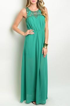 The Clothing Co Emerald Maxi Dress - Product List Image