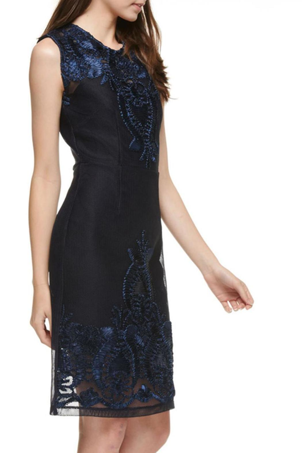 The Clothing Co Victorian Embroidered Lbd - Side Cropped Image