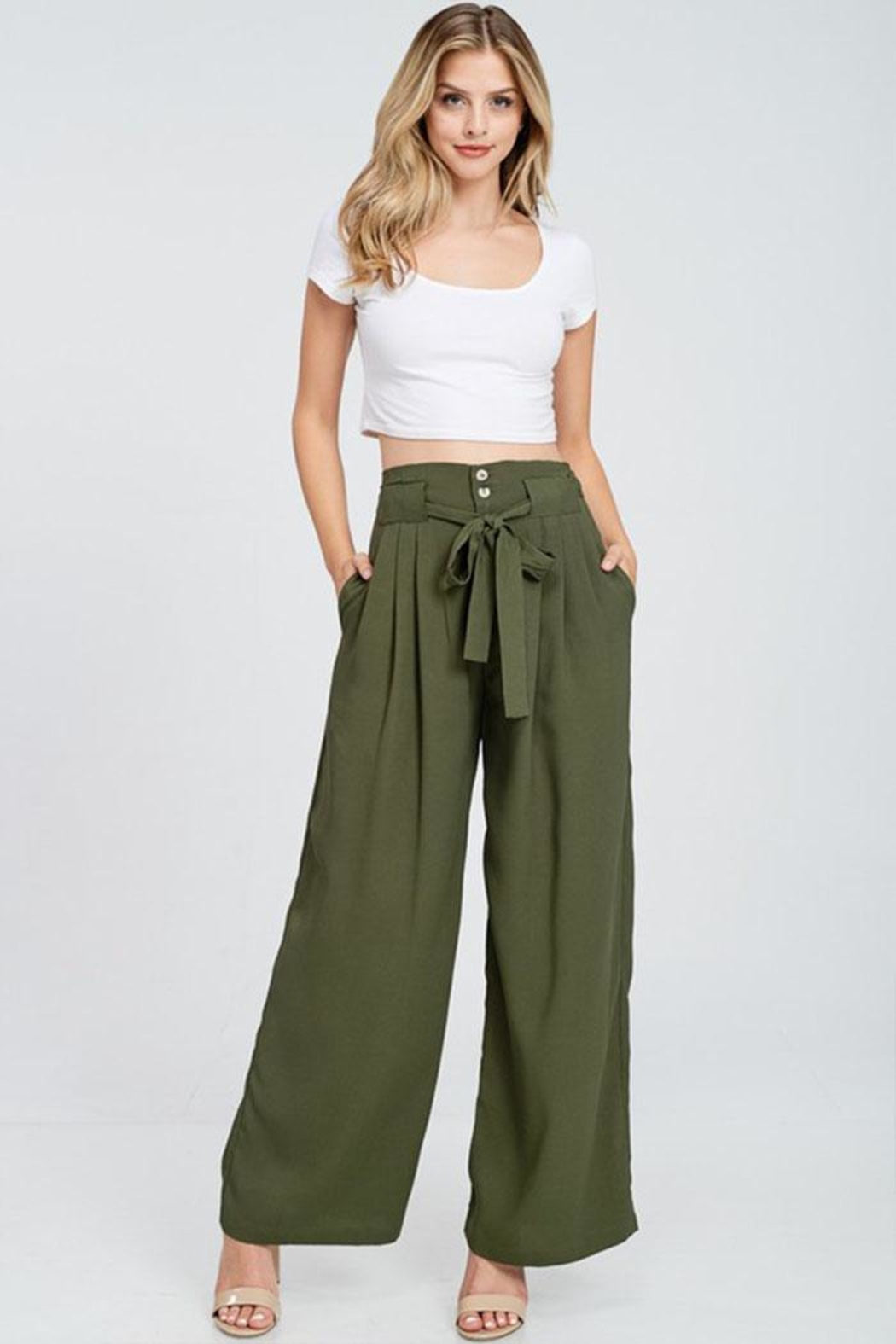 The Clothing Co High Waist Pants - Main Image