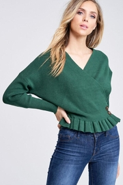 The Clothing Co Knit Sweater Top - Front full body