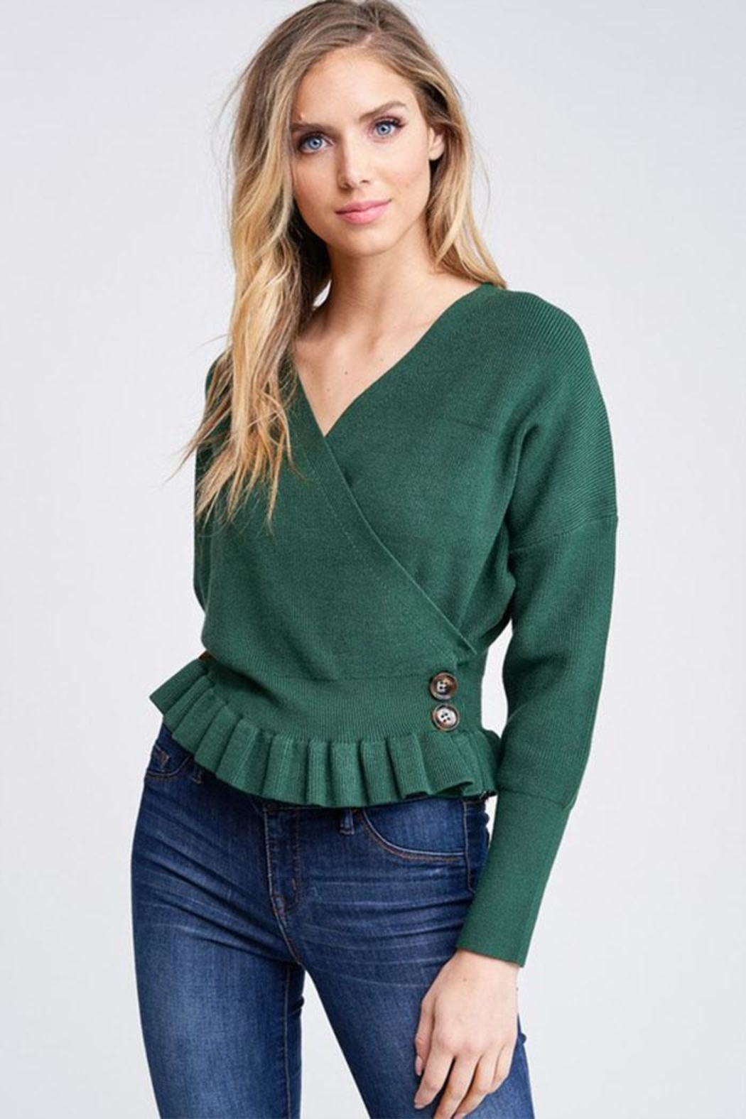 The Clothing Co Knit Sweater Top - Main Image