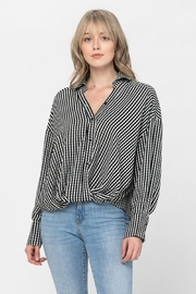 The Clothing Co Oversized Button Shirt - Side cropped