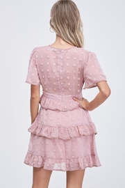 The Clothing Co Ruffle Dot Dress - Back cropped