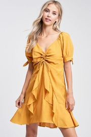 The Clothing Co Ruffle Mini Dress - Product Mini Image