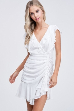 The Clothing Co Ruffle Mini Dress - Product List Image
