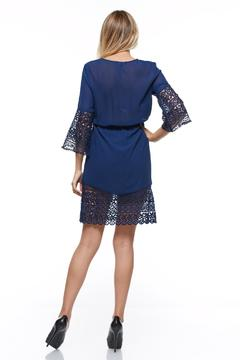 The Clothing Co Short Blue Dress - Alternate List Image