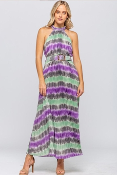 The Clothing Co Tie-Dye Maxi Dress - Product List Image