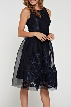 the clothing company Dreamy Navy Dress - Alternate List Image