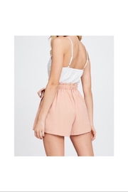 the clothing company Lace Romper - Front full body